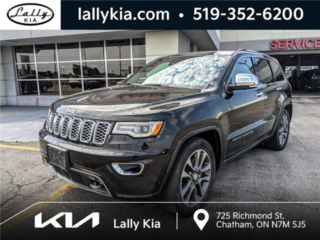 2017 Jeep Grand Cherokee Overland (Stk: KSOU2195A) in Chatham - Image 1 of 24