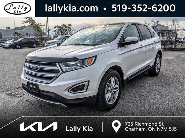 2016 Ford Edge SEL (Stk: KSOU2574A) in Chatham - Image 1 of 6