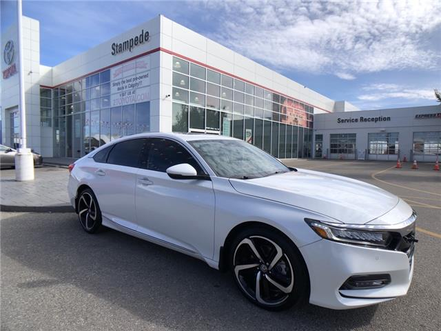 2020 Honda Accord Touring 1.5T (Stk: 210992A) in Calgary - Image 1 of 26