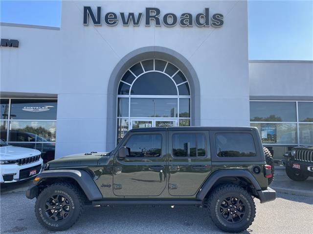 2021 Jeep Wrangler Unlimited Sport (Stk: 25767P) in Newmarket - Image 1 of 13