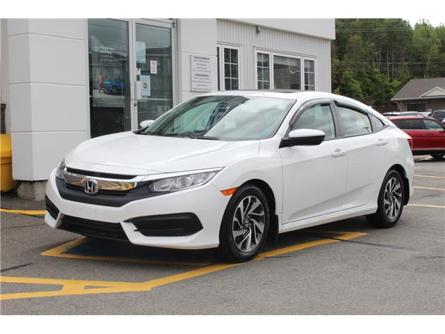 2016 Honda Civic EX (Stk: 21-135B1) in Fredericton - Image 1 of 26