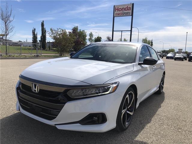 2021 Honda Accord SE 1.5T (Stk: H13-2827) in Grande Prairie - Image 1 of 23