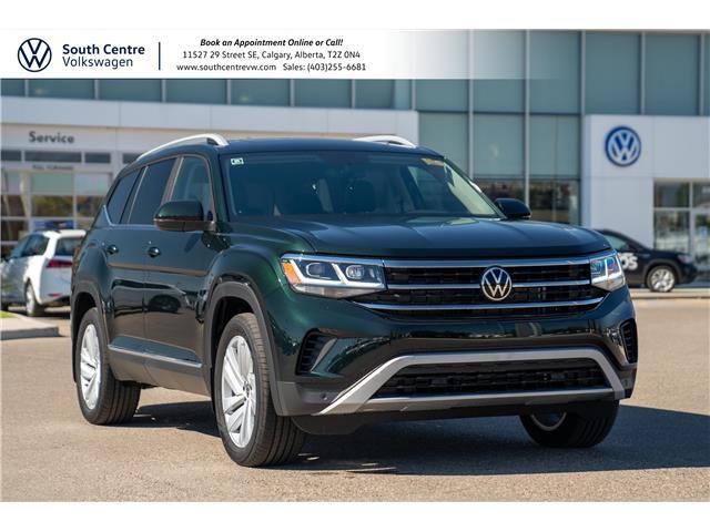 2021 Volkswagen Atlas 2.0 TSI Highline (Stk: 10371) in Calgary - Image 1 of 41