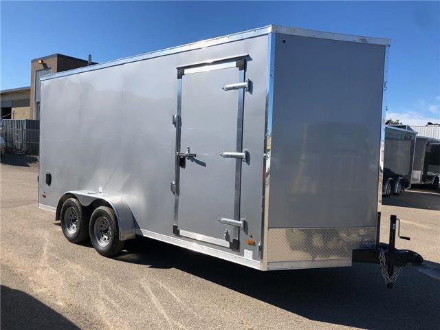 2022 Forest River 7 X 16 Enclosed Cargo Trailer  (Stk: ) in Saskatoon - Image 1 of 6