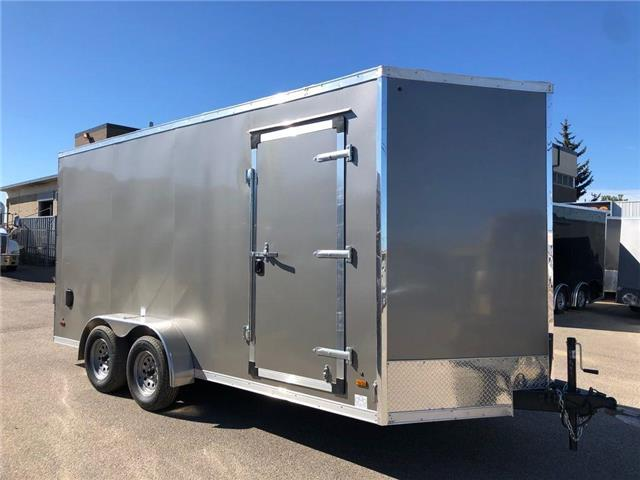 2022 Forest River 7 X 16 Enclosed Cargo Trailer  (Stk: ) in Saskatoon - Image 1 of 5