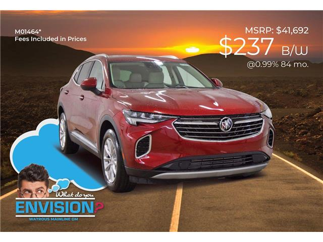 2021 Buick Envision Preferred (Stk: M01464) in Watrous - Image 1 of 43