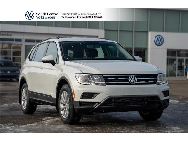 2021 Volkswagen Tiguan Trendline (Stk: 10385) in Calgary - Image 1 of 40