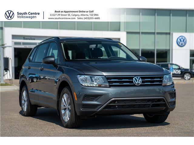 2021 Volkswagen Tiguan Trendline (Stk: 10384) in Calgary - Image 1 of 37
