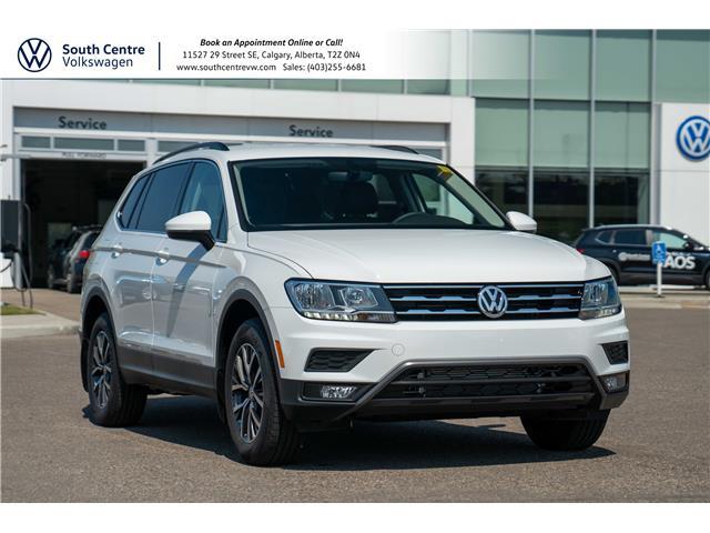 2021 Volkswagen Tiguan Comfortline (Stk: 10390) in Calgary - Image 1 of 40