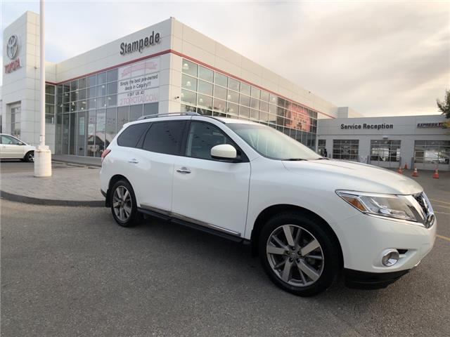 2014 Nissan Pathfinder Platinum (Stk: 210827A) in Calgary - Image 1 of 29