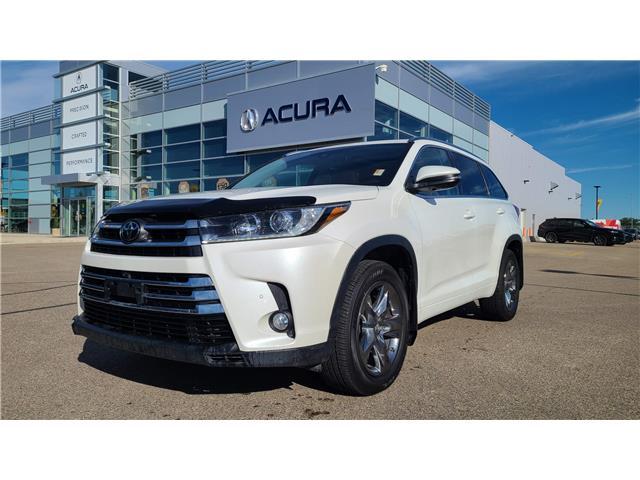 2017 Toyota Highlander Limited 5TDDZRFH6HS415146 A4551 in Saskatoon