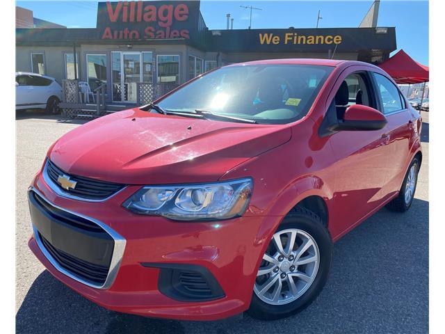 2017 Chevrolet Sonic LT Auto 1G1JD5SH2H4106651 T38521 in Saskatoon