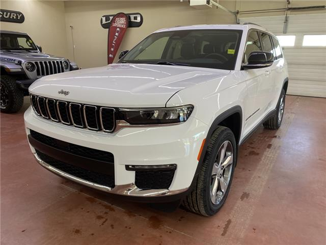 2021 Jeep Grand Cherokee L Limited (Stk: T21-149) in Nipawin - Image 1 of 18