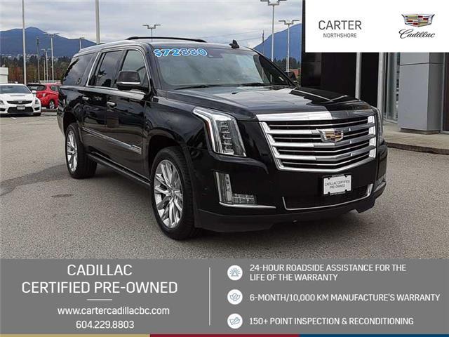 2018 Cadillac Escalade ESV Platinum (Stk: 975930) in North Vancouver - Image 1 of 24