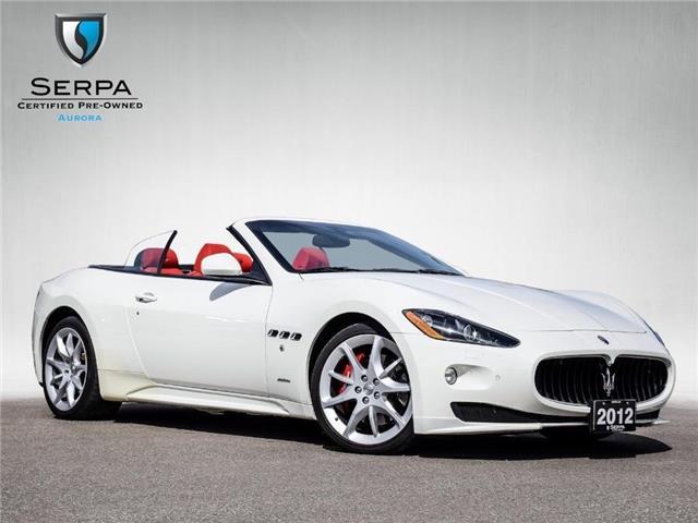 2012 Maserati GranTurismo Sport (Stk: CP072) in Aurora - Image 1 of 25
