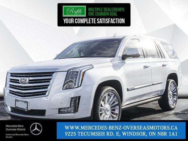 2018 Cadillac Escalade Platinum (Stk: M8114A) in Windsor - Image 1 of 21