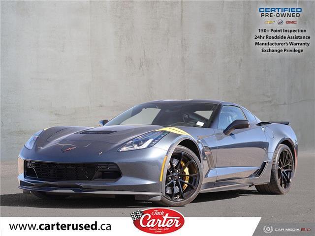 2019 Chevrolet Corvette Grand Sport (Stk: 17176U) in Calgary - Image 1 of 28