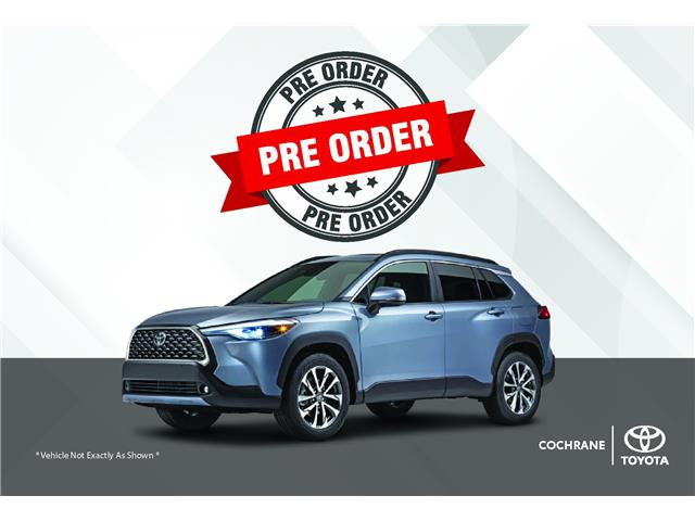 New 2022 Toyota Corolla Cross LE FWD FACTORY ORDER SPECIAL - Cochrane - Cochrane Toyota