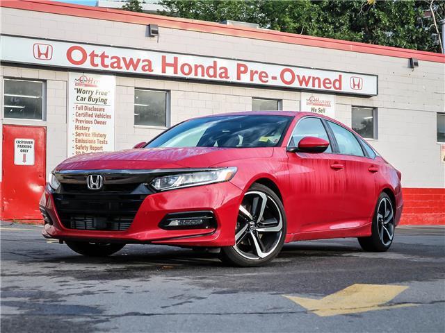 2019 Honda Accord Sport 1.5T (Stk: H92550) in Ottawa - Image 1 of 29