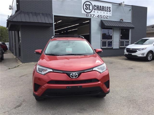 2016 Toyota RAV4 LE (Stk: ) in Winnipeg - Image 1 of 17