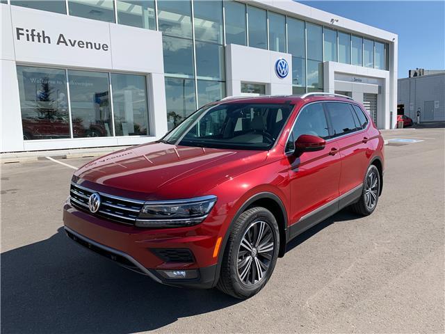 2018 Volkswagen Tiguan Highline (Stk: 21305A) in Calgary - Image 1 of 17