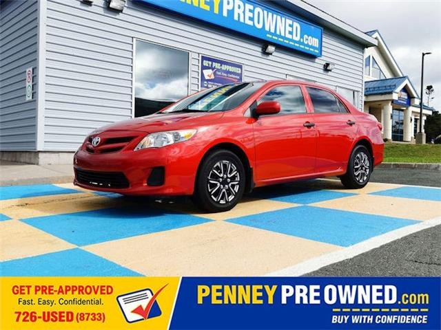 2012 Toyota Corolla CE (Stk: LP2256A) in Mount Pearl - Image 1 of 14
