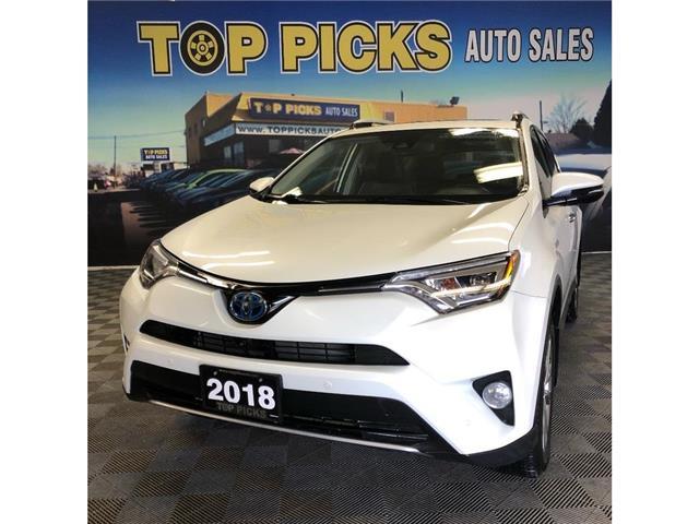 2018 Toyota RAV4 Hybrid Hybrid Limited (Stk: 169563) in NORTH BAY - Image 1 of 30