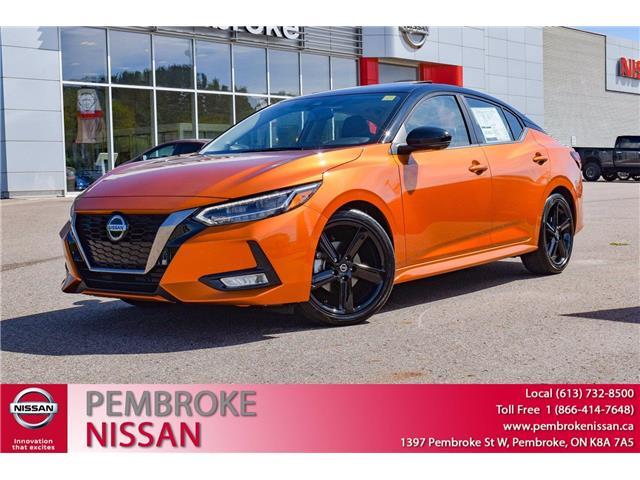 2021 Nissan Sentra SR (Stk: 21172) in Pembroke - Image 1 of 30