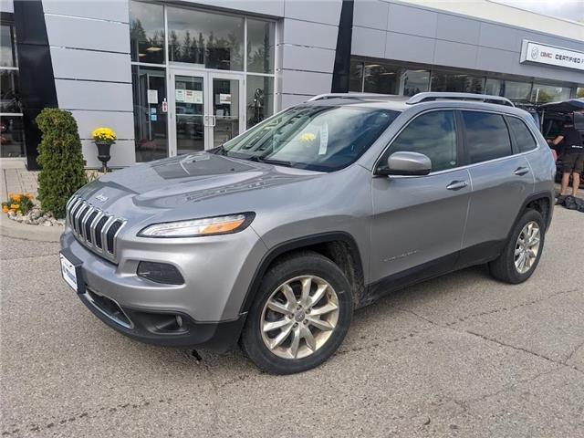 2015 Jeep Cherokee Limited (Stk: 21017A) in Orangeville - Image 1 of 22