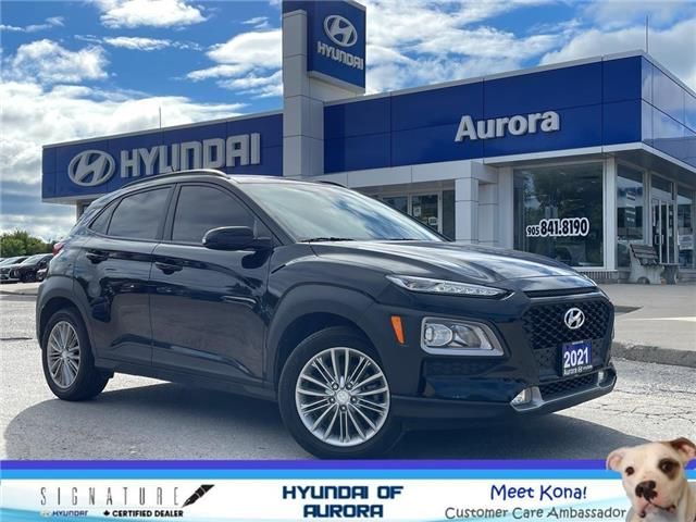 2021 Hyundai Kona 2.0L Preferred (Stk: 214171) in Aurora - Image 1 of 21