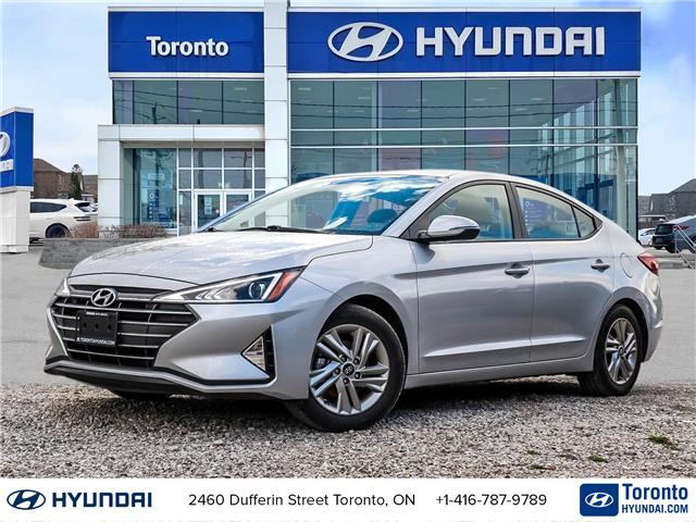 2020 Hyundai Elantra Preferred (Stk: U07294) in Toronto - Image 1 of 19