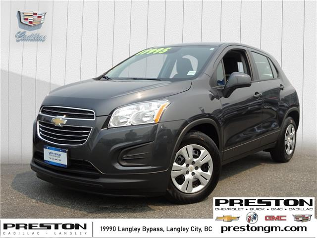 2016 Chevrolet Trax LS (Stk: 1206172) in Langley City - Image 1 of 26