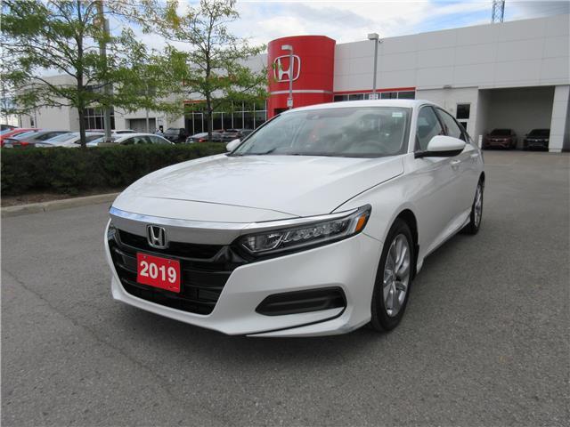 2019 Honda Accord LX 1.5T (Stk: 29206L) in Ottawa - Image 1 of 18