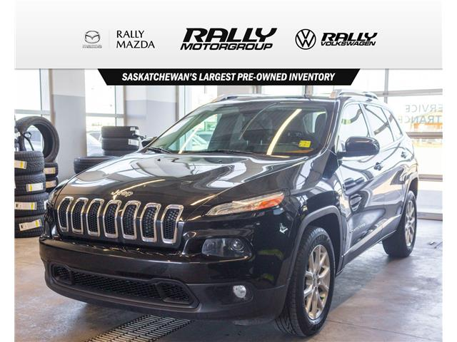 2014 Jeep Cherokee North (Stk: V1395A) in Prince Albert - Image 1 of 12