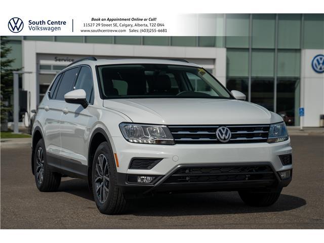 2021 Volkswagen Tiguan Comfortline (Stk: 10382) in Calgary - Image 1 of 42