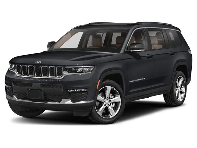 2021 Jeep Grand Cherokee L Overland (Stk: GC2158) in Red Deer - Image 1 of 9