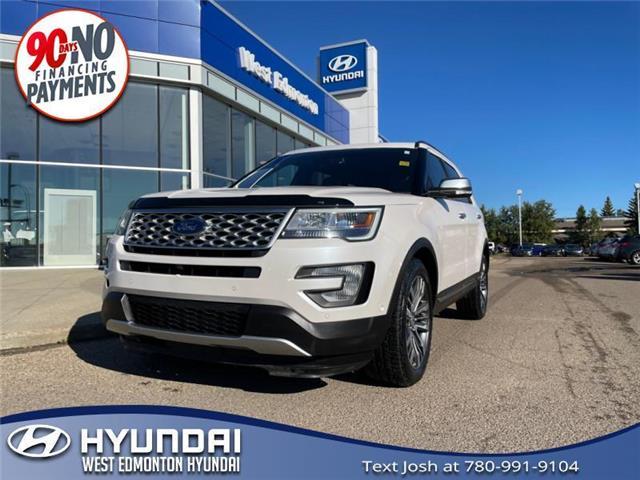 2017 Ford Explorer Platinum (Stk: 24212B) in Edmonton - Image 1 of 29