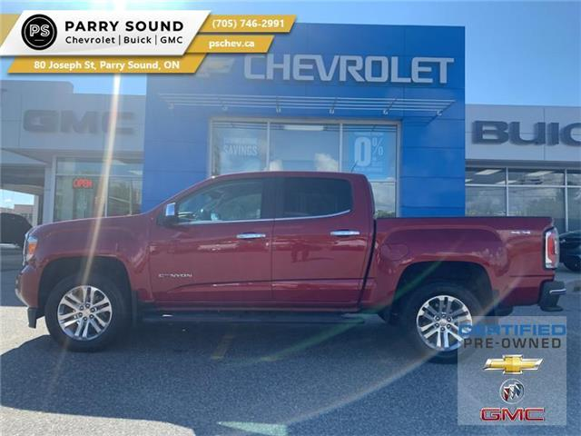 2017 GMC Canyon SLT (Stk: 21-244A) in Parry Sound - Image 1 of 21