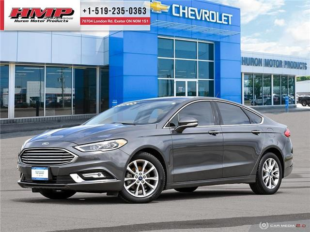 2017 Ford Fusion SE (Stk: 91548) in Exeter - Image 1 of 27