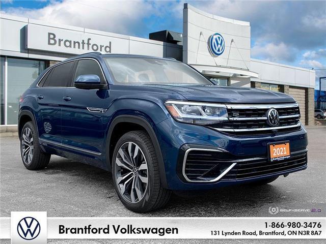 2021 Volkswagen Atlas Cross Sport 3.6 FSI Execline (Stk: AS21387) in Brantford - Image 1 of 26
