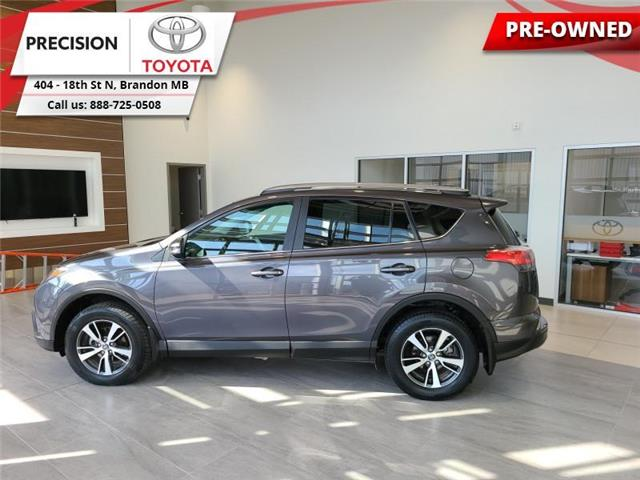 2018 Toyota RAV4 AWD XLE (Stk: 214201) in Brandon - Image 1 of 28