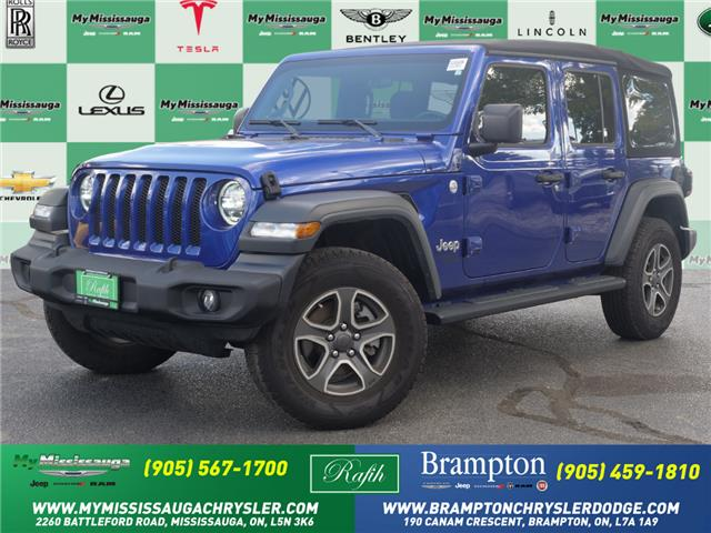 2020 Jeep Wrangler Unlimited Sport (Stk: 21532A) in Mississauga - Image 1 of 23