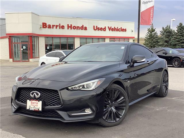 2017 Infiniti Q60 3.0T (Stk: 11-21822A) in Barrie - Image 1 of 24
