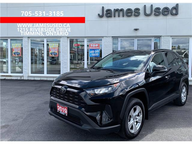 2019 Toyota RAV4 LE (Stk: P03030) in Timmins - Image 1 of 11