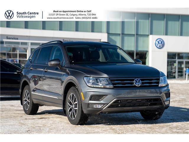2021 Volkswagen Tiguan Comfortline (Stk: 10396) in Calgary - Image 1 of 43