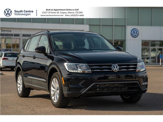 2021 Volkswagen Tiguan Trendline (Stk: 10391) in Calgary - Image 1 of 35