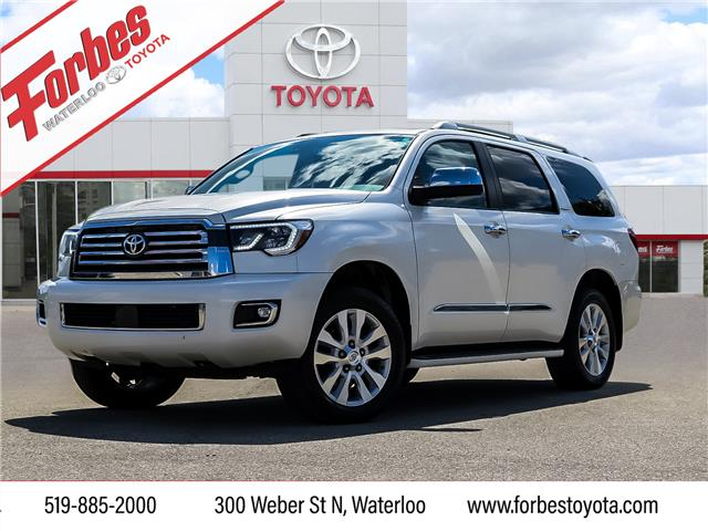 2018 Toyota Sequoia Platinum 5.7L V8 (Stk: 314) in Waterloo - Image 1 of 26