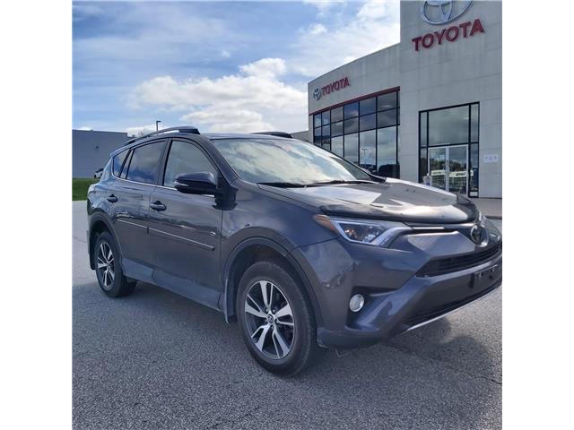 2018 Toyota RAV4 XLE (Stk: 21459a) in Owen Sound - Image 1 of 11