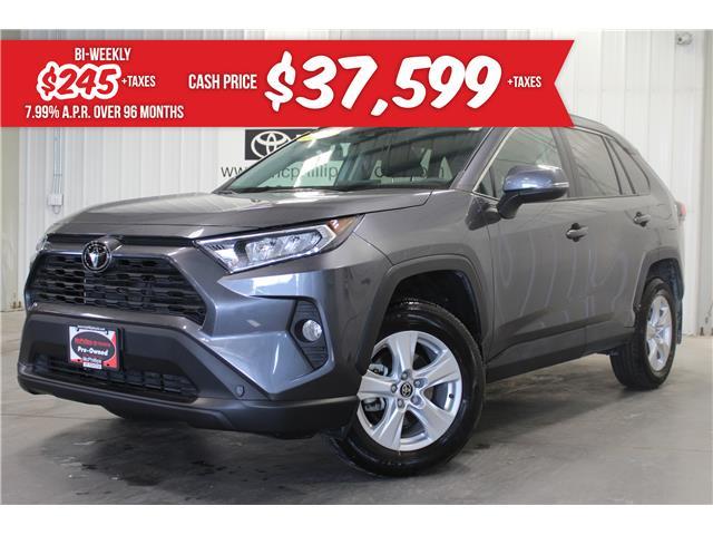 2021 Toyota RAV4 XLE (Stk: B11106) in Winnipeg - Image 1 of 29