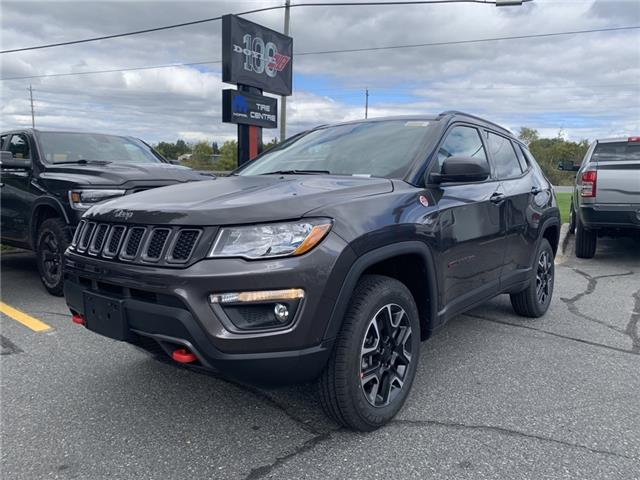 2021 Jeep Compass Trailhawk (Stk: 7153) in Sudbury - Image 1 of 12